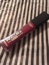 L'Oreal Paris Infallible Pro Matte Lip Gloss 310 FORBIDDEN KISS new