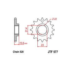 PIGNONE S AC P520-D15   97/98 MZ - MUZ SPORT CUP 660 54.2150415