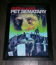 """Pet Sematary PP Signed Photo Poster 12""""x8"""" A4 Horror Stephen King"""
