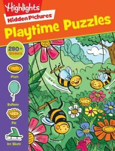 Playtime Puzzles [Highlights Sticker Hidden Pictures]