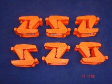 6 paia di Spear & Jackson del muratore linea Blocco in gomma a forma di mattoni arancione