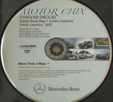 2005-2009 Mercedes C CL CLK G GL ML and R Class Navigation DVD 9.0 2012 Update