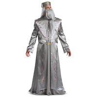 Mens Harry Potter Hogwarts Dumbledore Halloween Costume Robe Tassel Hat XL 2XL