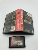 Sega Genesis Cart Case No Manual Tested Mortal Kombat 3 Ships Fast