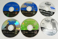 6 Nintendo Gamecube Game Disc Only Lot Wave Racer Tiger Woods Madden