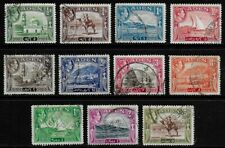 Aden 1939 KGVI Pictorials - SS to 5R - Used