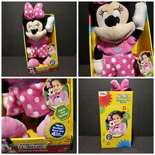 New listing Minnie Mouse Disney Clubhouse Fun Singing Talking Bowtique Talking Doll Toy Nos