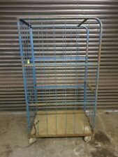 More details for used 3 1/2 sided roll cage - warehouse storage and mobility