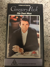 GREGORY PECK HIS OWN MAN  DOCO AS NEW RARE  PAL VHS VIDEO