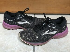 Brooks Launch 5 - Women's Size 9.5 - Purple Black Running Shoes
