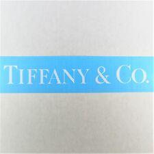 Tiffany & Co. Vinyl Decal Die Cut 1x7in White Watch Logo Window Sticker