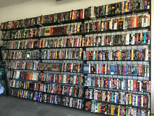 VHS MEGA SALE // Pick Your Own From Drop Down Menu // Some rare ones too!