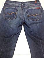 7 FOR ALL MANKIND Jeans Seven-  BOOTCUT - WOMEN'S SIZE 28 - DARK WASH DENIM