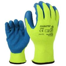 12 Pairs Baratec Thermal Nitrile Breathable Work Gripper Grip Gloves (9903)