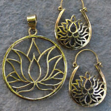 Brass Asian Earrings without Stone