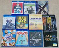 Huge Blu-Ray DVD Movie Lot 18 Movies - Science Fiction - War - Star Wars - Rare