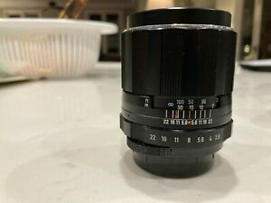 Super-Takumar 105mm F2.8 Telephoto Vintage Lens, Great Condition