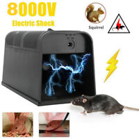 Electronic High Voltage Rat Trap Electric Shocking Mice Mouse Rodent Killer