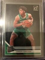 2019-20 Clearly Donruss Carsen Edwards Rated Rookie RC #81 Celtics