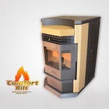 Pellet Stove Comfortbilt HP22-N Apricot - 50000 btu w/80 lb Hopper Capacity!