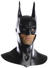 Batman Mask Cowl Adult Mens Full Overhead Deluxe Mask Dark Knight Rises Costume