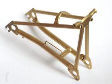 BROMPTON titanium (PVD coating) ORIGINAL rear frame triangle. GOLD ed