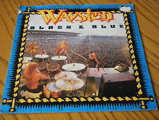 "WAYSTED - BLACK & BLUE      7"" VINYL PS"