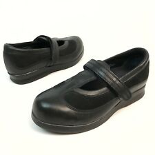 @ Drew Desiree Women's Mary Jane Diabetic Orthopedic Shoe Black Leather 7.5w