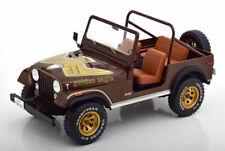 1:18 MCG Jeep CJ-7 Golden Eagle 1976 darkbrown-metallic