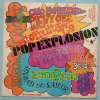 VARIOUS ARTISTS ~ BUDDAH'S POP EXPLOSION ~ 1968 UK 10-TRACK MONO LP RECORD