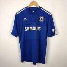 Chelsea 2009 2010 Home football shirt soccer jersey adidas Samsung size M