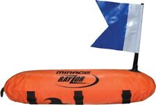 Mirage Torpedo Dive Float with Flag For Safe Spearfishing - Orange