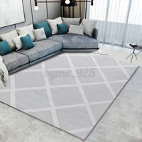 Large Geometric Floor Mat Carpet Rugs Area Mat Bedroom Living Room 160cm x 220cm