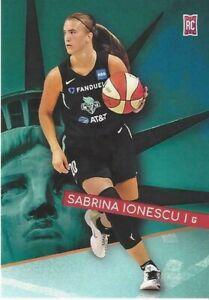 * SABRINA IONESCU * WNBA NEW YORK LIBERTY GENERATION NEXT TRADING CARD ROOKIE