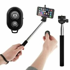 Extendable Selfie Stick with Wirless Bluetooth Remote, For Sony, iPhones,LG,HTC.