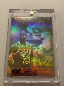 Michael Jordan 1992-93 Upper Deck Hologram Scoring Insert Card #AW1