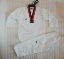 Adidas ADI CHAMPION II taekwando youth kids uniform sz 140cm 10-12 years