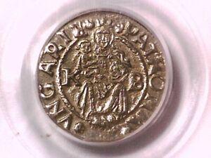 1544 - KB Denar PCGS Genuine Hungary 19565967