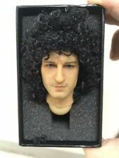 HOT custom QUEEN BRIAN MAY 1/6 pvc action  figure head TOYS band guitar rock