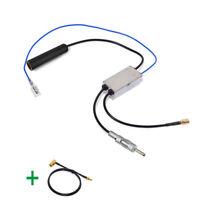 DAB Car radio antenna FM/AM to DAB/FM/AM aerial converter/splitter & SMA to SMB