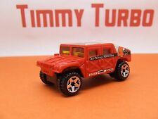 Off Road Truck General Corp hummer rojo caliente ruedas 70 mm de largo