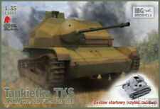 IBG E3503 TKS tankette with NKM wz.38 FK-A 20mm (quick assembly) scale 1/35