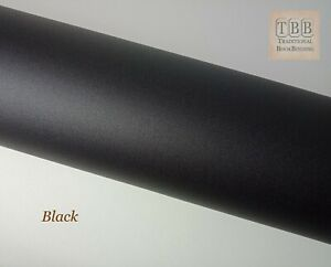 Quality Book cloth- 273 x 250 mm- Durable buckram with paper backing- Black