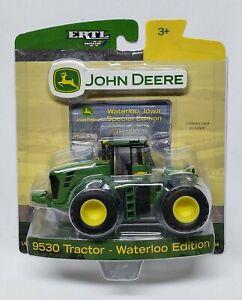 John Deere 9530 4wd Tractor Waterloo Special Employee Edition 1/64 Scale By Ertl