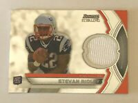 2011 Bowman Sterling Reflection Stevan Ridley PATCH Card #BSR-SR Rookie RC Mint