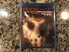 Friday The 13th Killer Cut New Sealed Blu-Ray! 2009 Slasher!