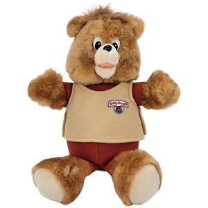 "Vintage 1988 Teddy Ruxpin Worlds of Wonder Non-Talking 14"" Stuffed Animal Plush"