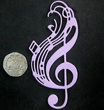 Clef de sol dentelle musical / tapis de moule par fairie bénédictions