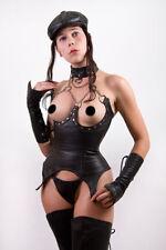 Sous Poitrine Corset + Collier + string underbust corset