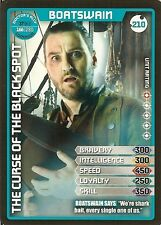 DR WHO MONSTER INVASION SET 2 EXTREME CARD: 210 BOATSWAIN